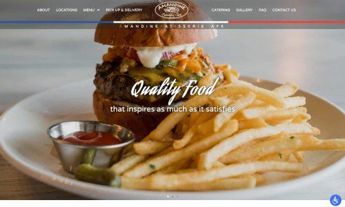Cafe Website