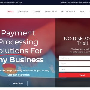 Payment Processing Website