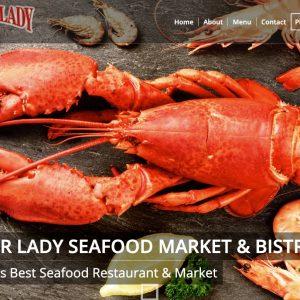 Seafood Restaurant Website