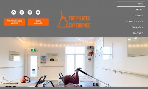 The Pilates Experience Website