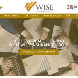 Wise Insurance Website